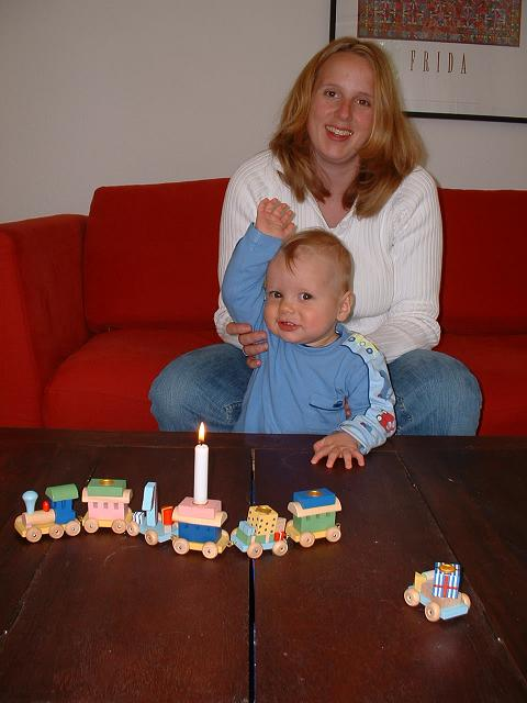Jakobs First Birthday