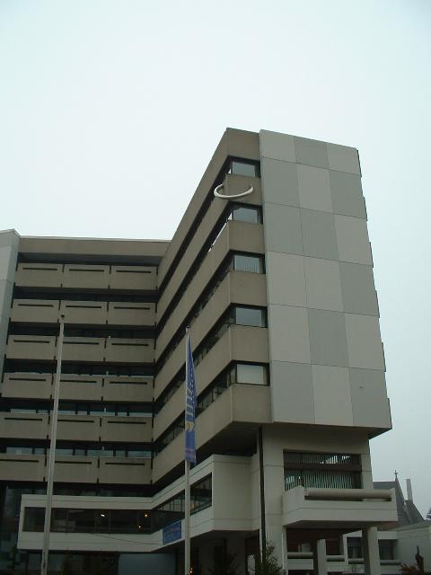 Pierced Building